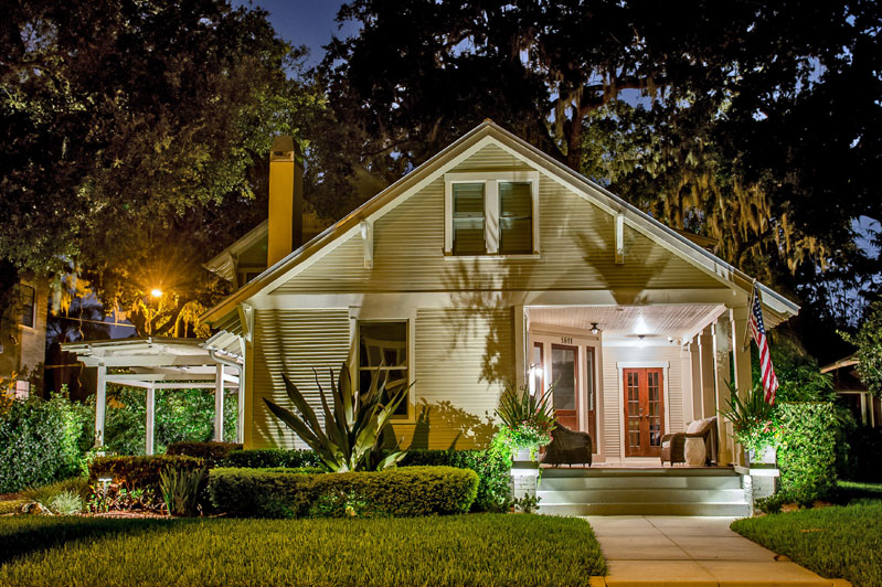 South Tampa Historic House Lighting