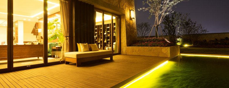 Transform your yard into a well-lit wonderland with a few of these unique landscape lighting ideas for your residence.