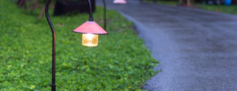 outdoor pathway lighting